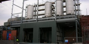 Raw Material Storage Tank Farm – Pharmaceutical Facility